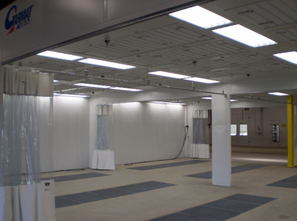 Industrial Painting Booths : Novi mi industrial paint booth spray products