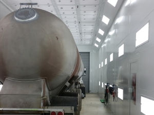 Monroe MI Industrial Paint Booth - Spray Booth Products - 11