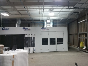 Automotive Spray Booth Near Southfield MI - Spray Booth Products - 17