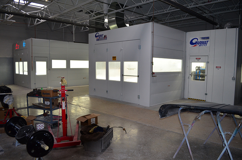 Automotive Paint Booths Monroe MI