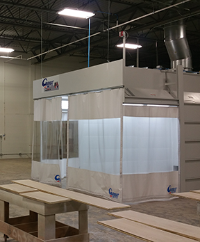 Spray Paint Booths & Automotive Spray Systems: Redford, MI | Spray Booth Products - home